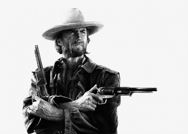 Clint Eastwood by Petrol